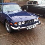 Triumph Stag – Restored the front end paintwork of this show car.