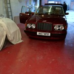 Bentley Turbo R – Repaired minor paintwork discrepancies then serviced and MOT'd.