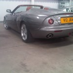 Aston Martin V12, not much needed doing to this stunning car apart from a check over and MOT.
