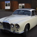 Classic Jaguar – This car came in for a complete respray.