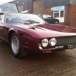 Lamborghini Espada – Removed corrosion and small amount of damage and made good to show finish.