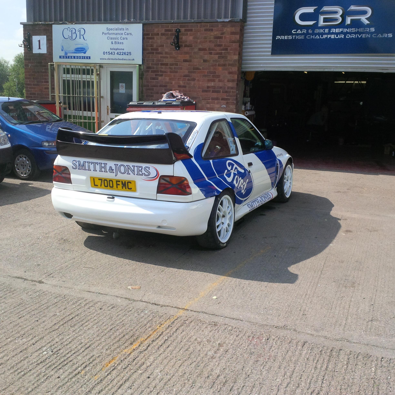 Escort Cosworth Rally Car Bodywork Repair