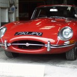This classic eType came in for a full restoration job including removal of Webasto sunroof.
