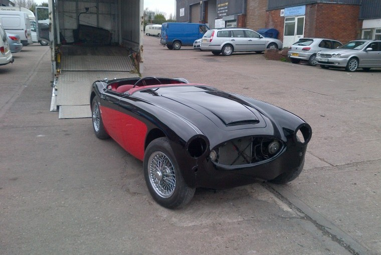Austin Healey Respray Project